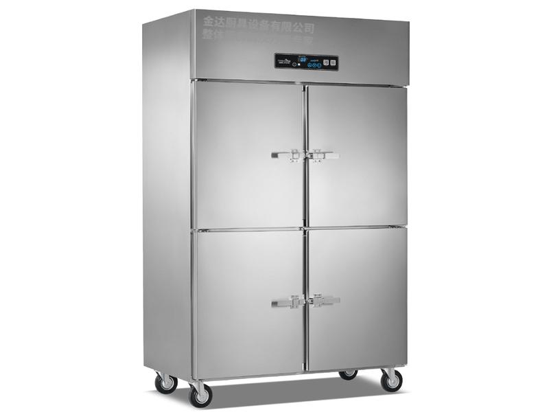 立式明管单机双温冷冻冷藏柜系列