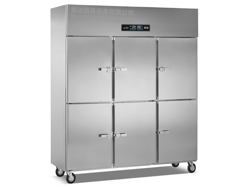 立式明管双机双温冷冻冷藏柜系列