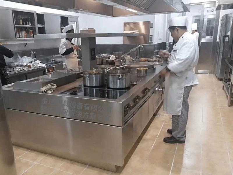 电磁炉厨房案例