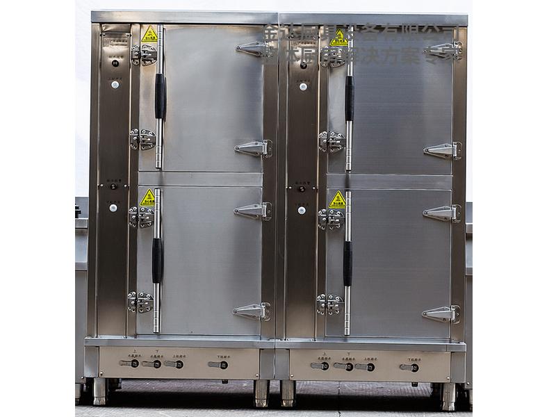 一体双门双控蒸汽柜(电/燃气)